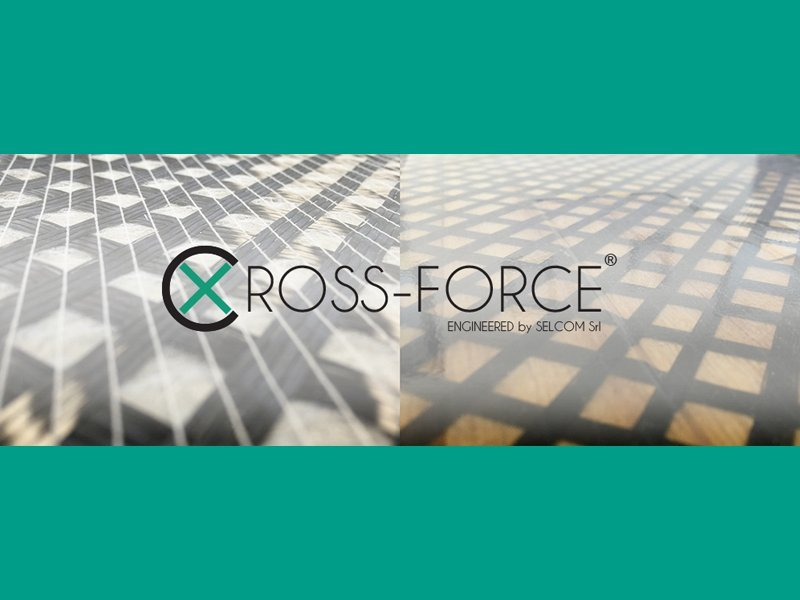 CROSS-FORCE: new Selcom multiaxial fabric for finishing layer